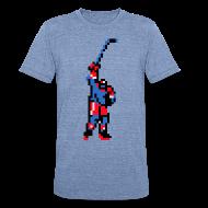 T-Shirts ~ Unisex Tri-Blend T-Shirt ~ The Goal Scorer - Blades of Steel