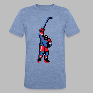 The Goal Scorer - Blades of Steel - Unisex Tri-Blend T-Shirt by American Apparel