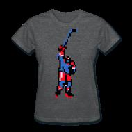 T-Shirts ~ Women's T-Shirt ~ The Goal Scorer - Blades of Steel