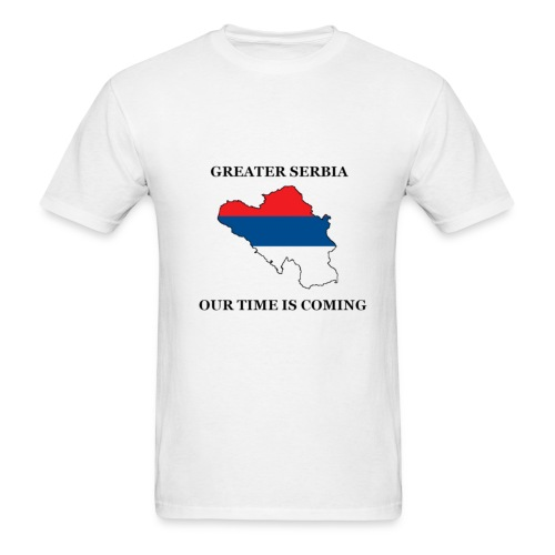 Greater Serbia - 1 - Men's T-Shirt