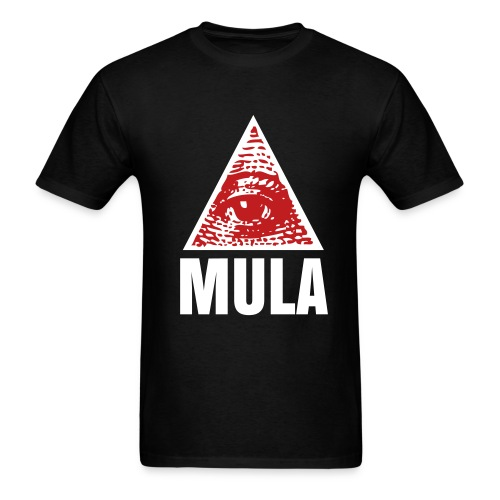 Eye Love MULA Blk/White/Red - Men's T-Shirt