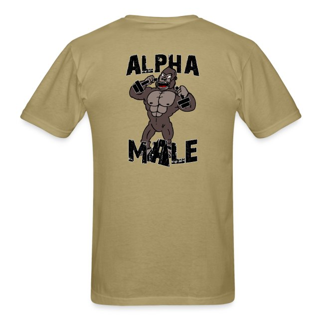 37a238bec90c Alpha Fitness Club Apparel | Alpha Male Shirt - Mens T-Shirt