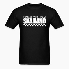 Support Your Local Ska Band - Black