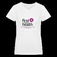 T-Shirts ~ Women's V-Neck T-Shirt ~ Women's Logo V-neck T
