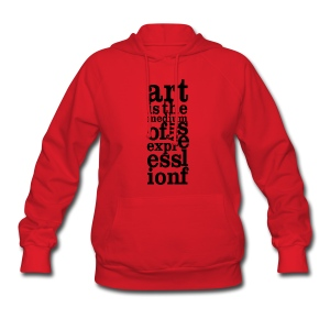 Art is My Medium - Women's Hoodie