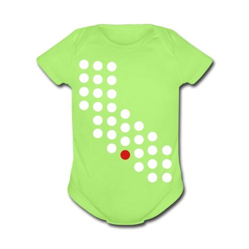 Los Angeles, CA - Baby - Organic Short Sleeve Baby Bodysuit