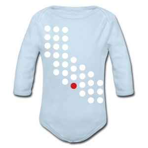 Los Angeles, CA - Baby - Long Sleeve Baby Bodysuit