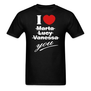 I love you valentine valentine´s day - Men's T-Shirt