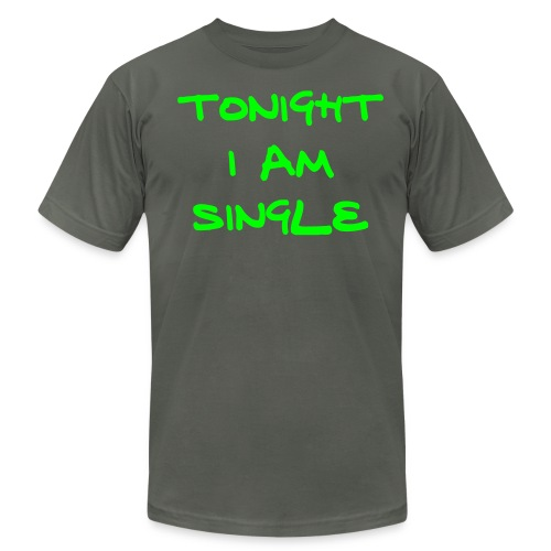 Single Tonight  - Men's  Jersey T-Shirt