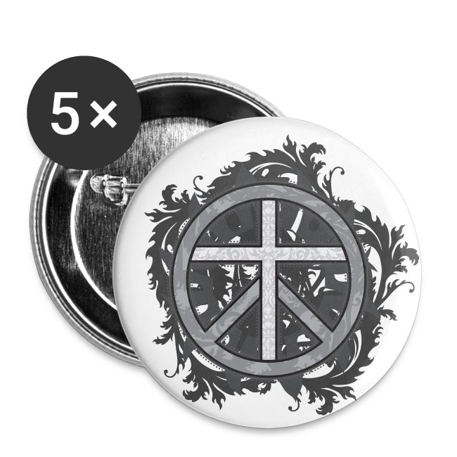 Crosswear Prince Of Peace Buttons New Large Buttons