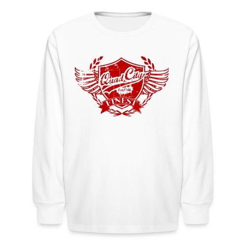 PHRESH FL8/QC'S FINEST CLOTHING LINE - Kids' Long Sleeve T-Shirt