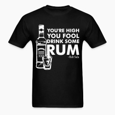 The Rum Diary - You're High You Fool... (White) - Men's