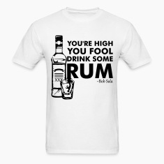 The Rum Diary - You're High You Fool... (Black) - Men's