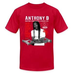 Anthony B Dem Can't Stop We From Talk men's Am App tee - Men's T-Shirt by American Apparel