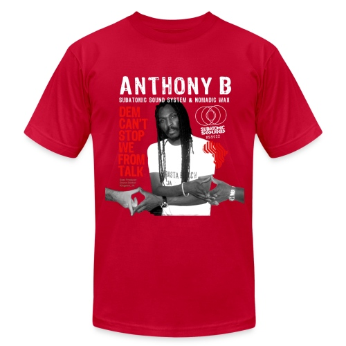 Anthony B Dem Can't Stop We From Talk men's Am App tee - Men's Fine Jersey T-Shirt