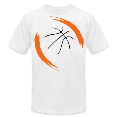 Basketball cool design t shirts t shirt spreadshirt for Design your own basketball t shirt