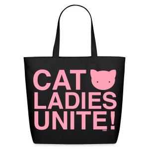 Cat Ladies Unite! - Eco-Friendly Cotton Tote