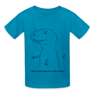Kids' Shirts ~ Kids' T-Shirt ~ T-Rex Rock, Paper, Scissors (Kid's)