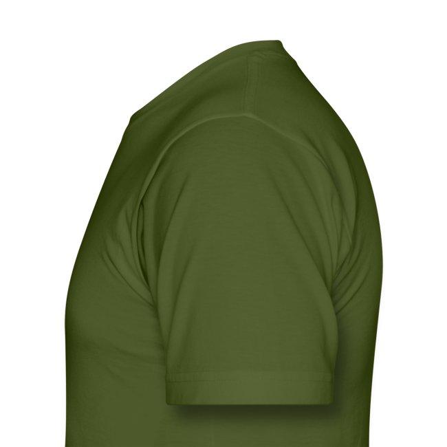 2-Sided Olive Green Macross Destroid T-Shirt