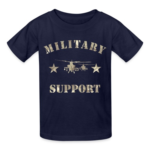 Children's Military support tee - Kids' T-Shirt