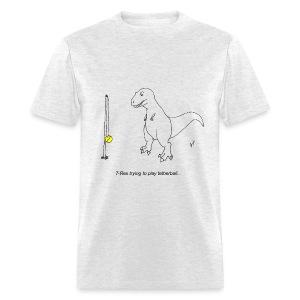 T-Rex Tetherball (Basic Tee) - Men's T-Shirt