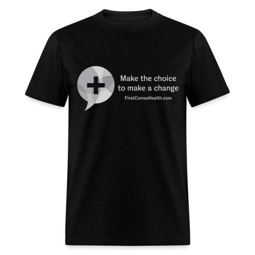 Men's Gray Logo T - Men's T-Shirt