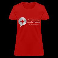 T-Shirts ~ Women's T-Shirt ~ Women's Gray Logo T
