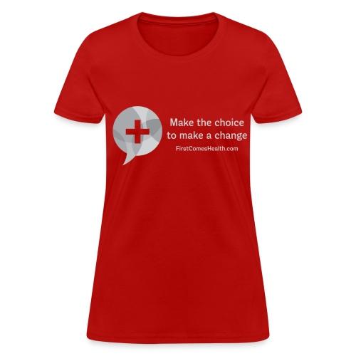 Women's Gray Logo T - Women's T-Shirt