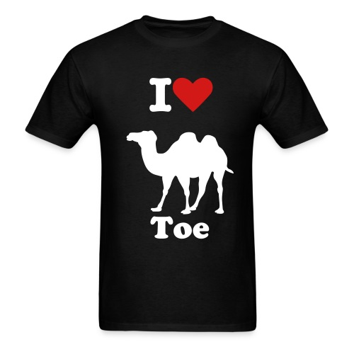 camel toe - Men's T-Shirt