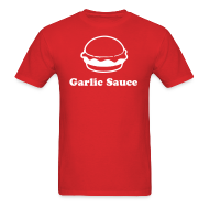 T-Shirts ~ Men's T-Shirt ~ Garlic Sauce by IZATRINI.com