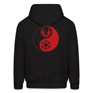 2 Logo - Star Wars The Old Republic - Red Yin Yang - Men's Hoodie