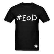 T-Shirts ~ Men's T-Shirt ~ #EoD Black T