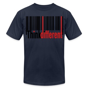 Think Different T-Shirt - Men's T-Shirt by American Apparel
