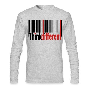 Think Different Long Sleeve Shirt - Men's Long Sleeve T-Shirt by Next Level