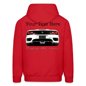 Ferrari 360 Hoodie Enjoy the View Series - Men's Hoodie