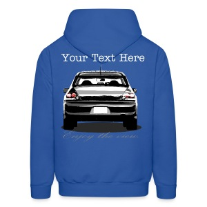 Lancer Evolution Hoodie Enjoy the View Series - Men's Hoodie