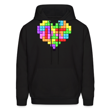 For The Love Of Tetris Hoodie