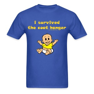 i survived the coat hanger - Men's T-Shirt