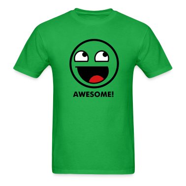 Awesome Smiley 3c T-Shirts