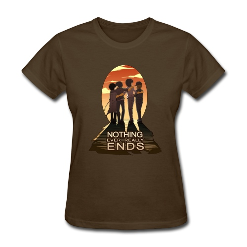 Nothing Ever Really Ends [DESIGN BY HUDA] - Women's T-Shirt
