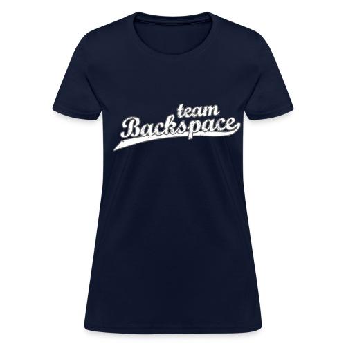 Women's Standard Backspace  - Women's T-Shirt