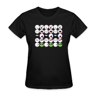 T-Shirts ~ Women's T-Shirt ~  Faces of iMagnet