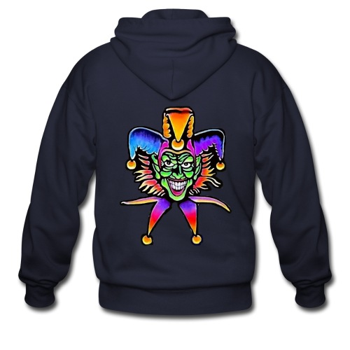 jokers wild - Men's Zip Hoodie