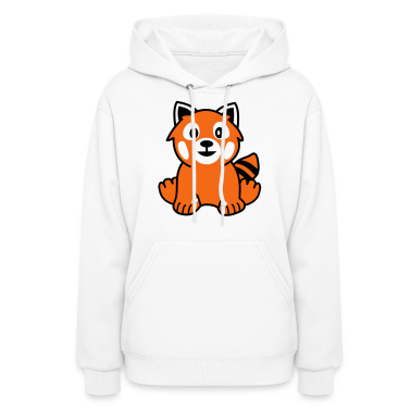 Red Panda Hoodies