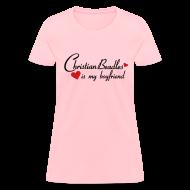 Women's T-Shirts ~ Women's T-Shirt ~ Christian Beadles Is My Boyfriend