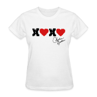T-Shirts ~ Women's T-Shirt ~ XOXO