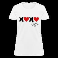 Women's T-Shirts ~ Women's T-Shirt ~ XOXO