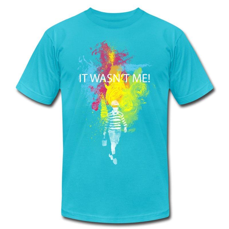 It wasn 39 t me t shirt spreadshirt for Talk texan to me shirt