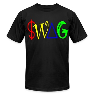 SWAG T-Shirt - Men's T-Shirt by American Apparel