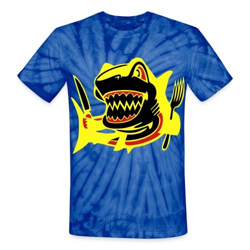 Shark - Unisex Tie Dye T-Shirt